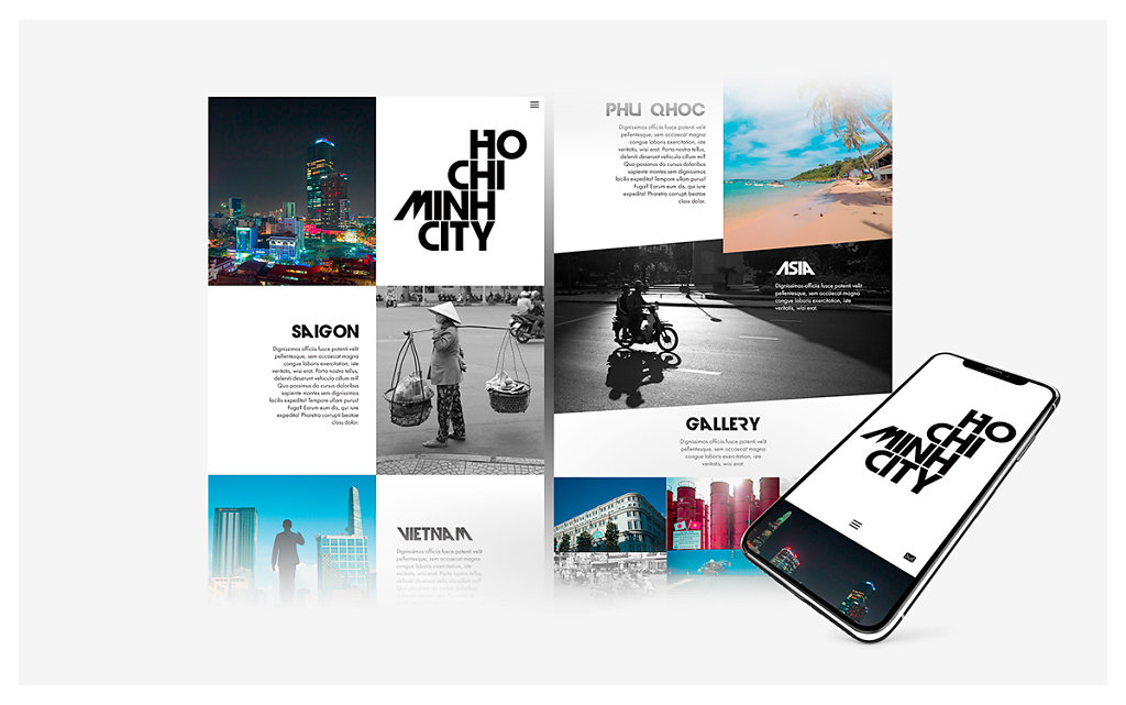 Ho chi minh City - Web design